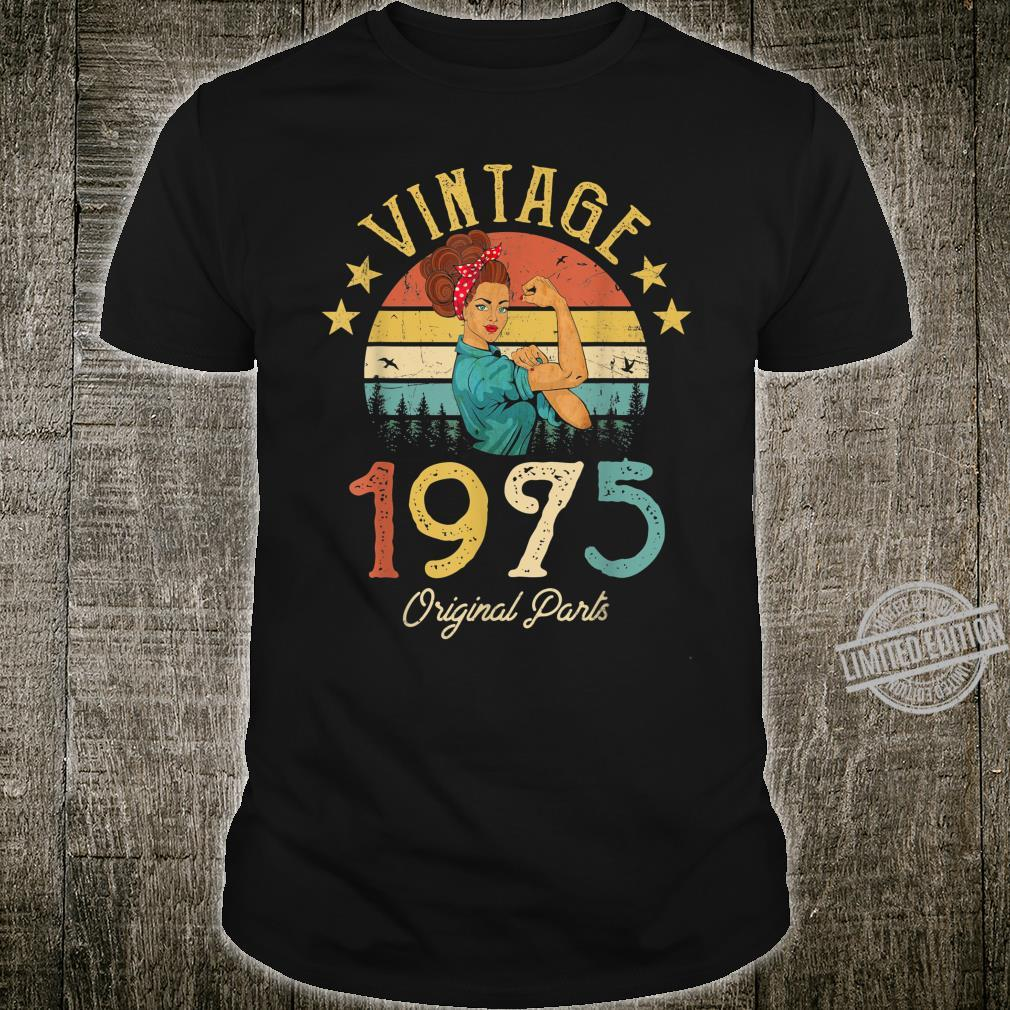 1975 Vintage 45th birthday retro Shirt