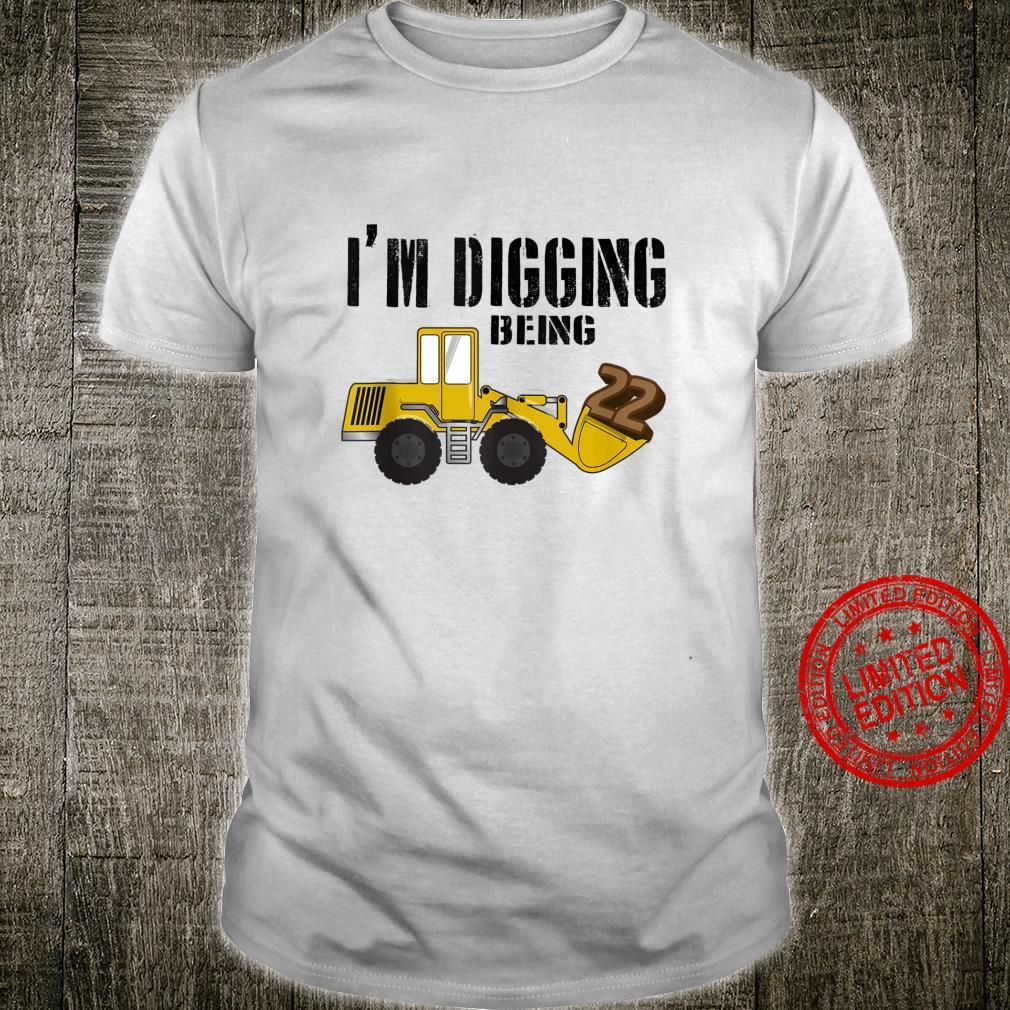 22nd Birthday Shirt Construction Shirt, 22 Year Old Bday Shirt