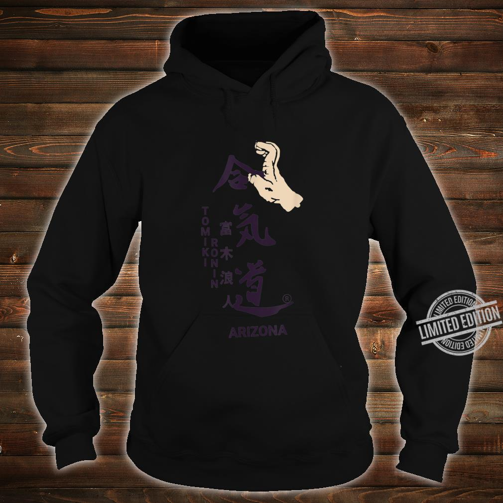 Aikido Floormaster Takedown Design Shirt hoodie