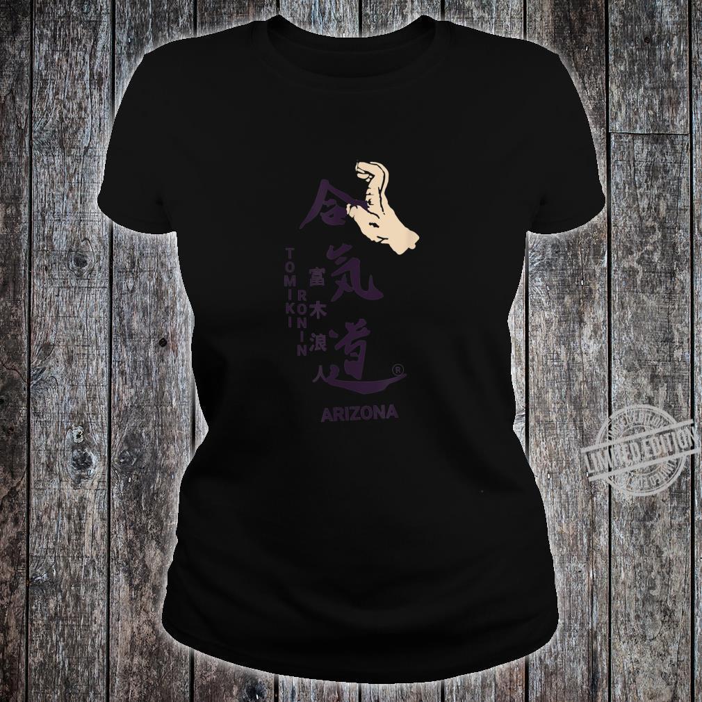 Aikido Floormaster Takedown Design Shirt ladies tee