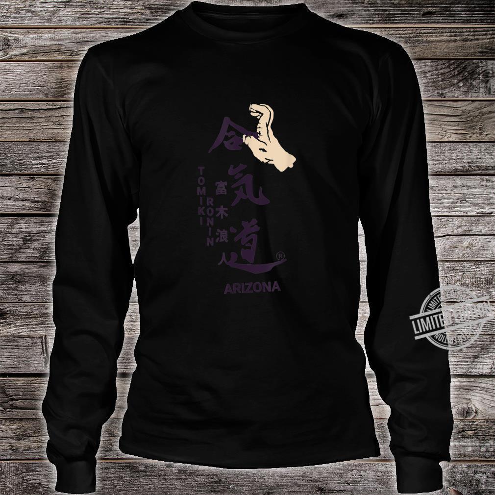 Aikido Floormaster Takedown Design Shirt long sleeved