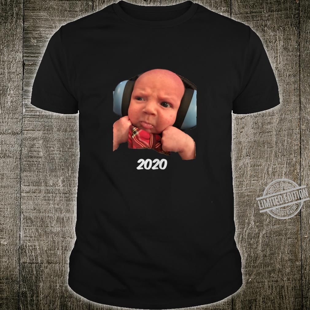 Angry 2020 Baby Shirt