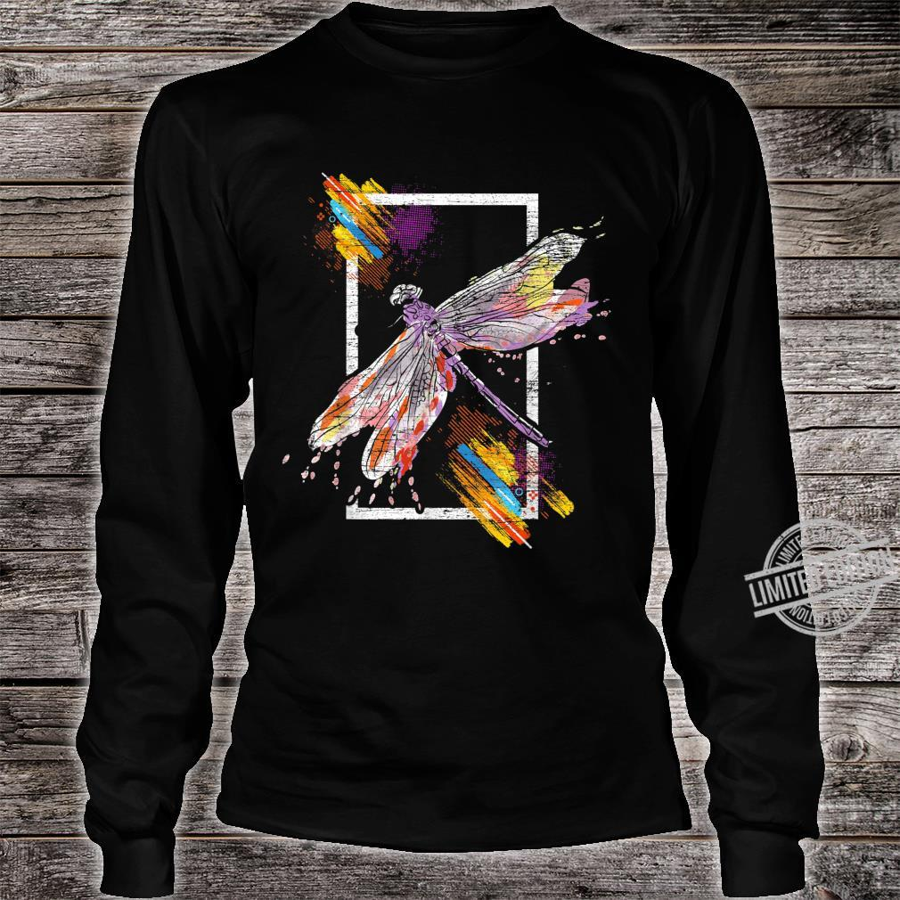 Animal Retro Dragonfly Shirt long sleeved