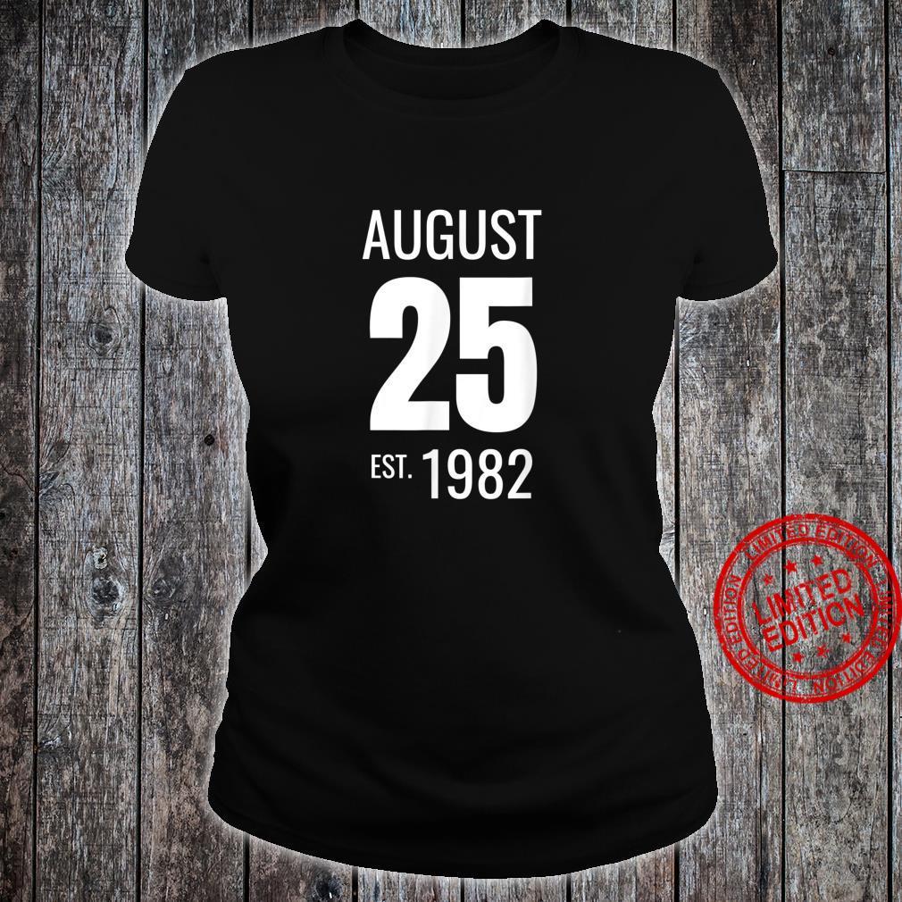August 25 1982 Shirt ladies tee