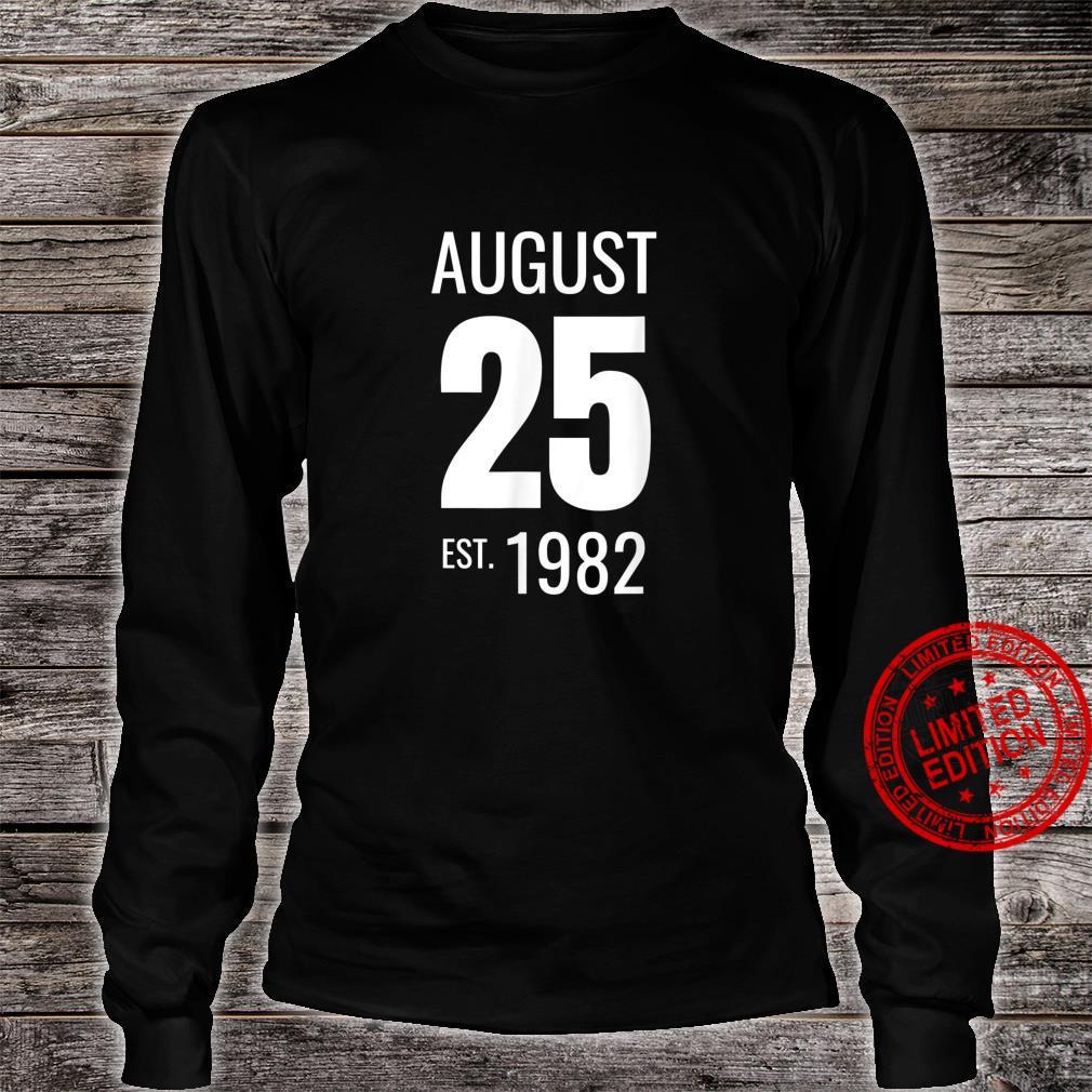 August 25 1982 Shirt long sleeved