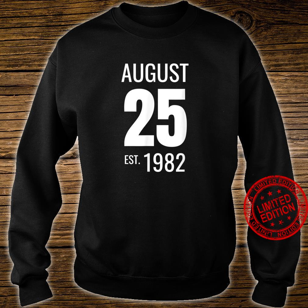 August 25 1982 Shirt sweater