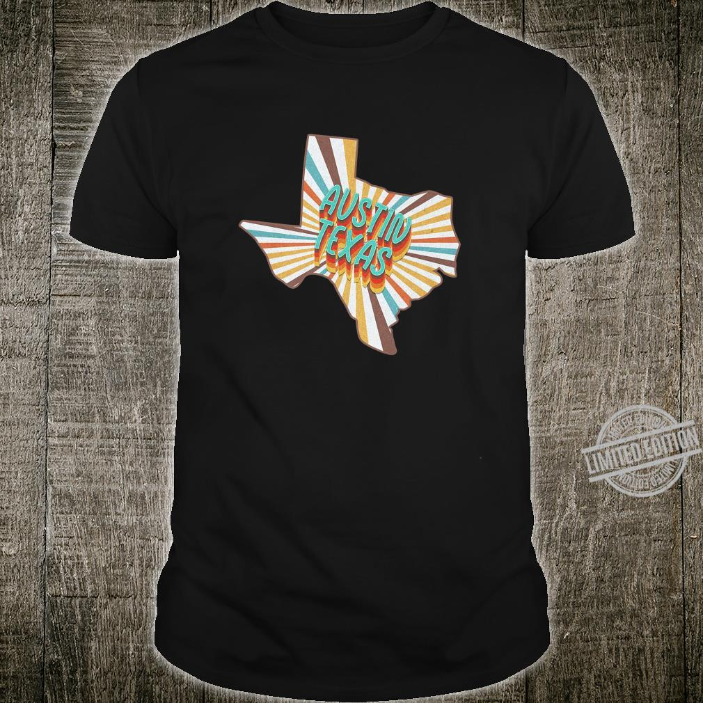 Austin Texas 70's Style Shirt