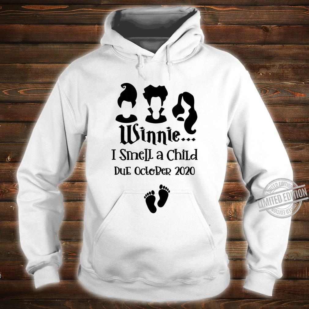 Baby Reveal Due October 2020 Pregnancy Announcement Mother Shirt hoodie