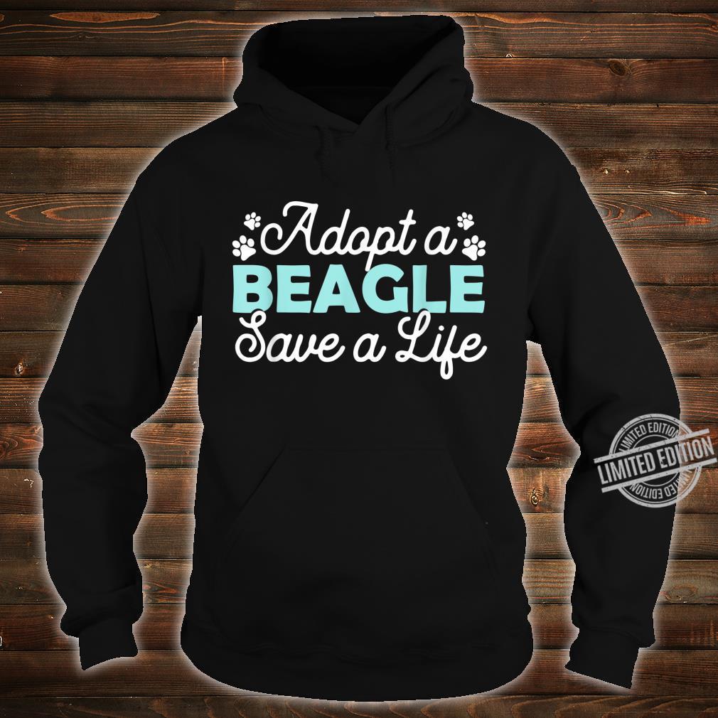 Beagle Adoption Beagles Rescue Outfit Beagle Shirt hoodie