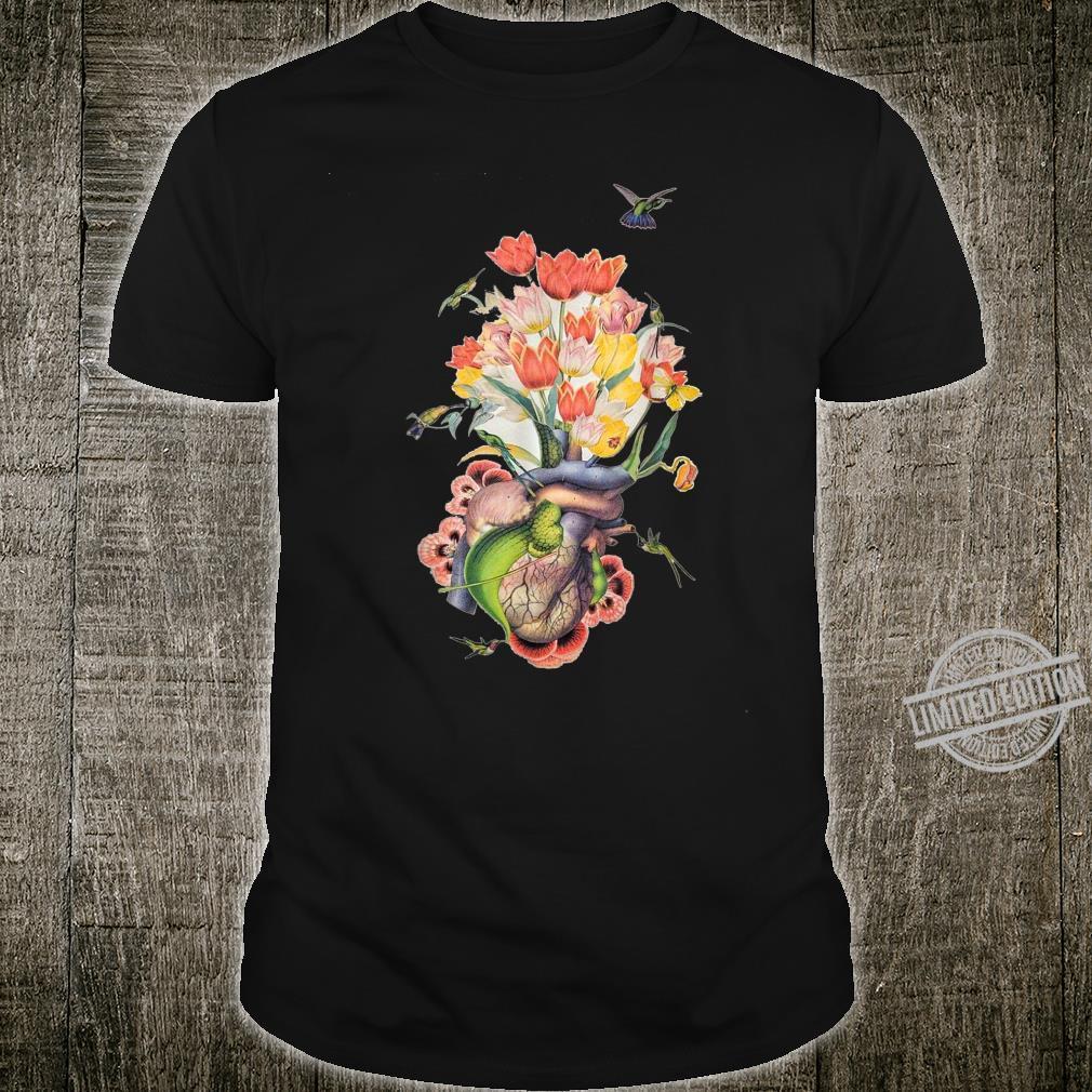 Beautiful Life Enjoy Heart Flower and Birds Shirt