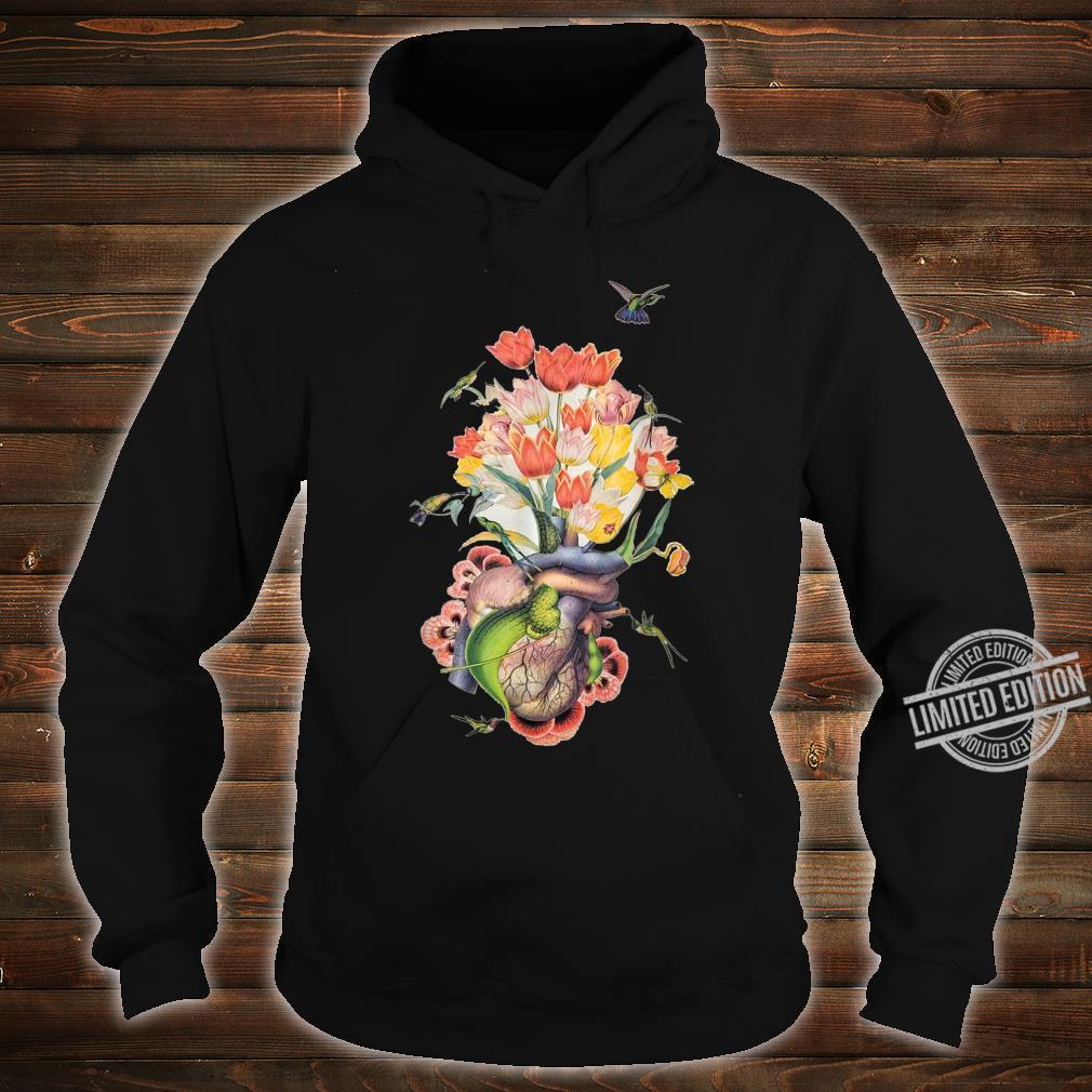 Beautiful Life Enjoy Heart Flower and Birds Shirt hoodie