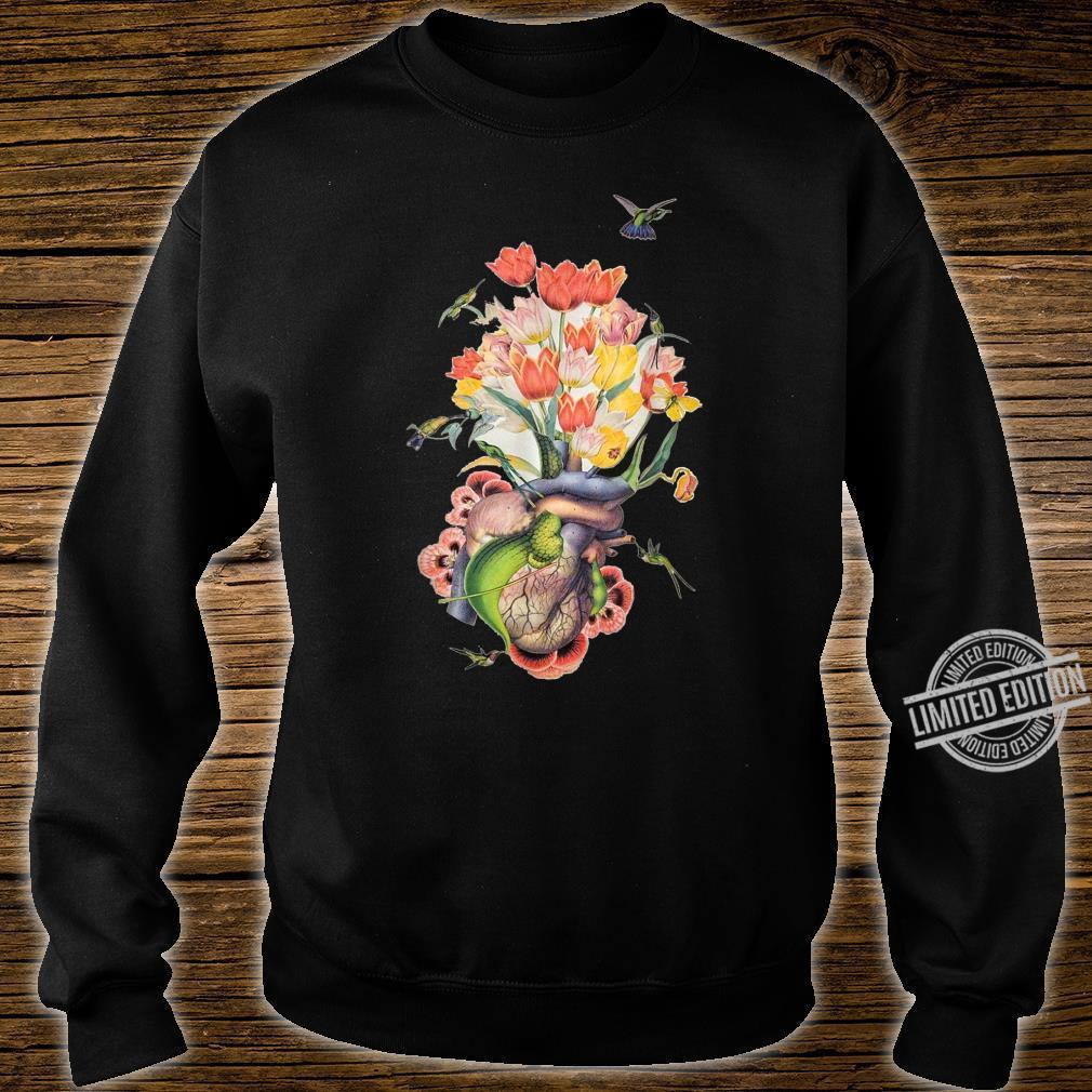 Beautiful Life Enjoy Heart Flower and Birds Shirt sweater