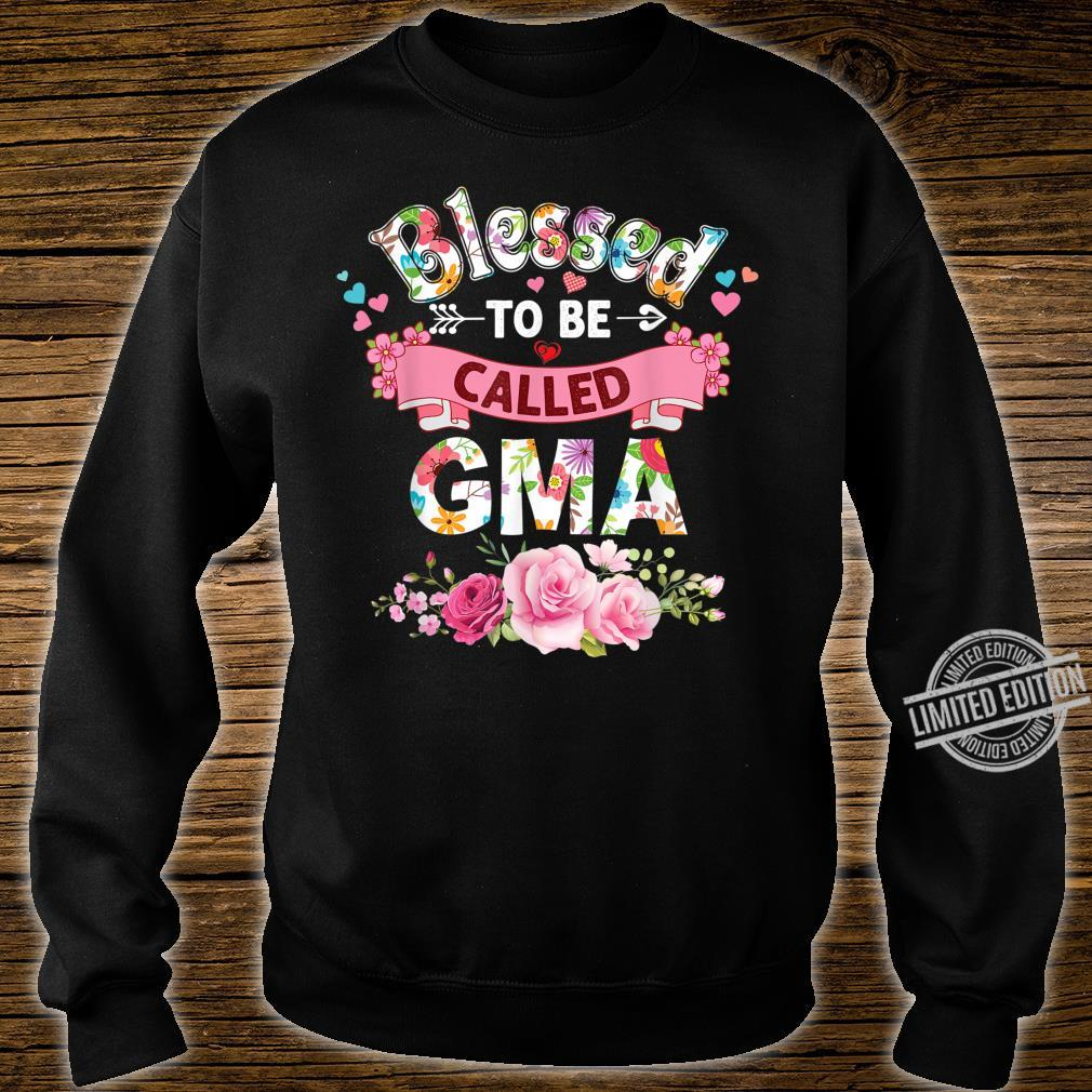 Blessed To Be Called Gma Floral Mother Day Mommy Mom Shirt sweater