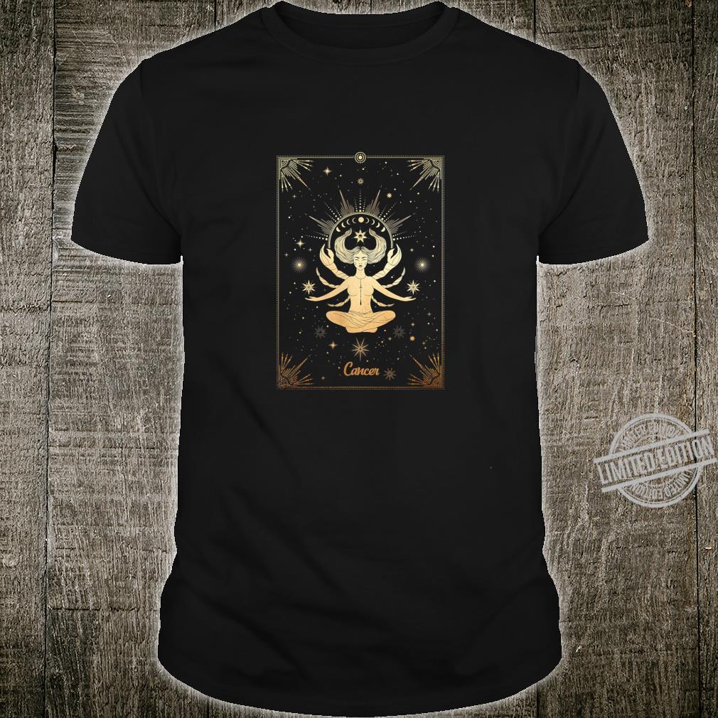 Cancer Zodiac Sign Astrology Tarot Card Birthday Shirt