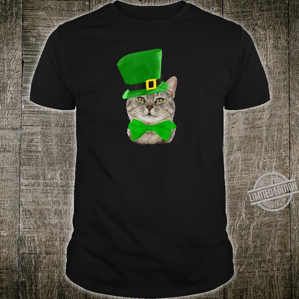 Cat Leprechaun St Patricks Day St Paddy's Shirt