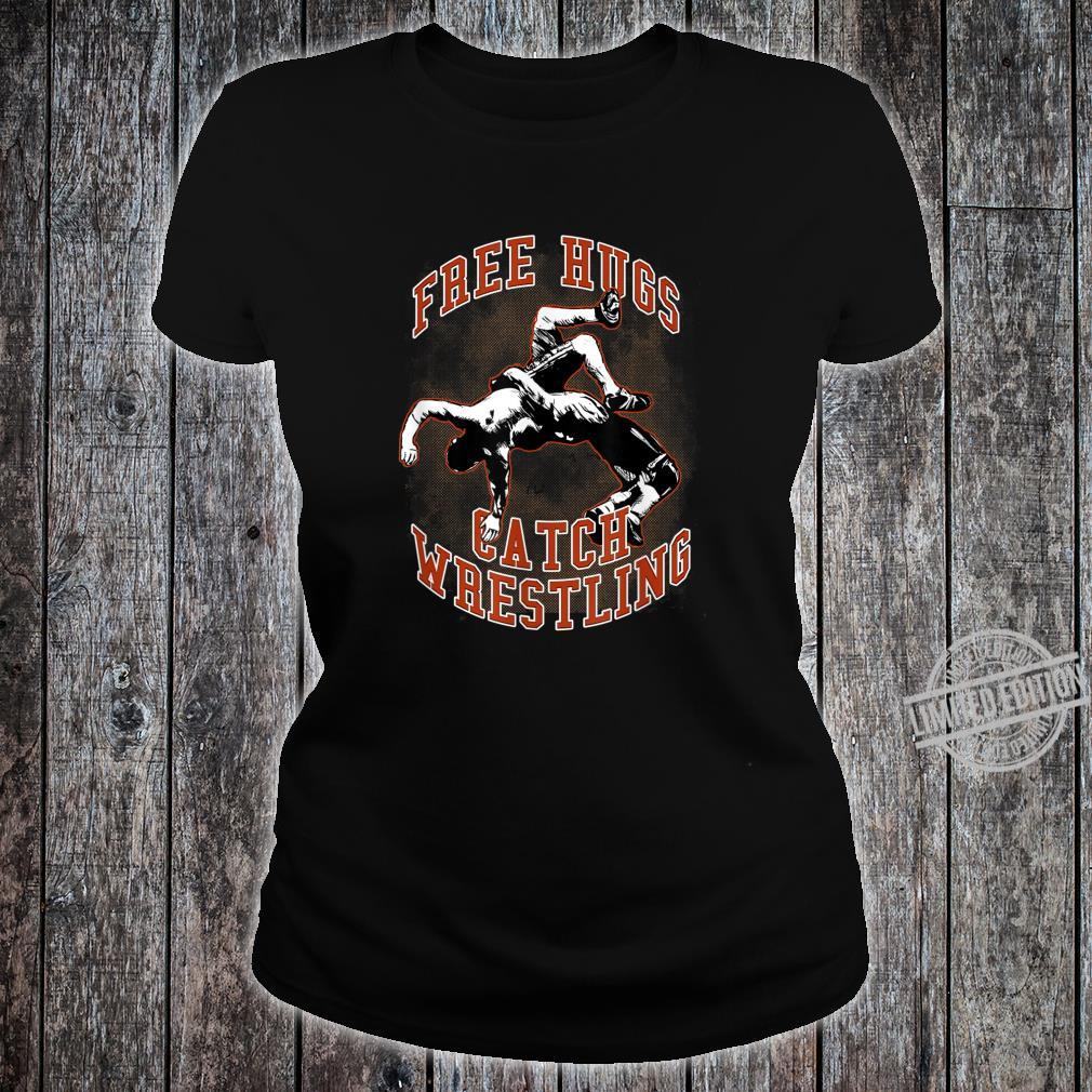 Catch Wrestling Free Hugs, CACC Shirt ladies tee