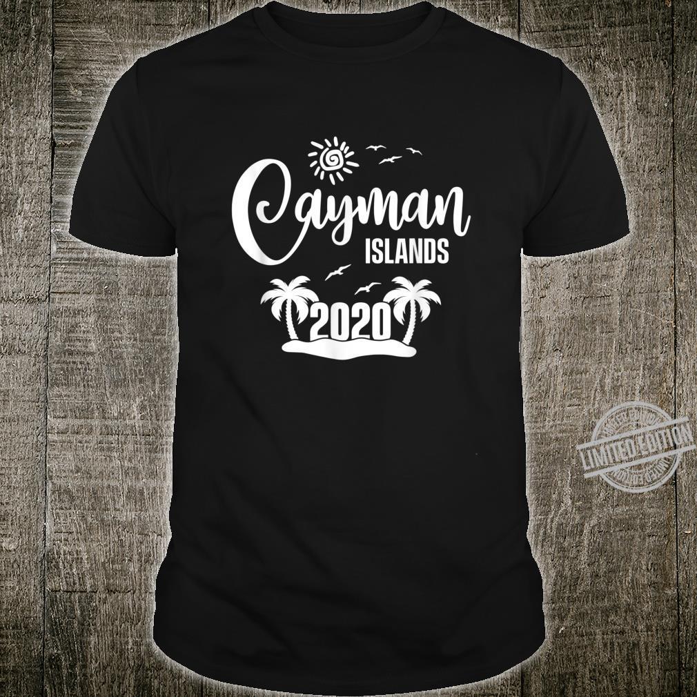 Cayman Islands 2020 Summer Vacay Beach Trip Vacation Shirt
