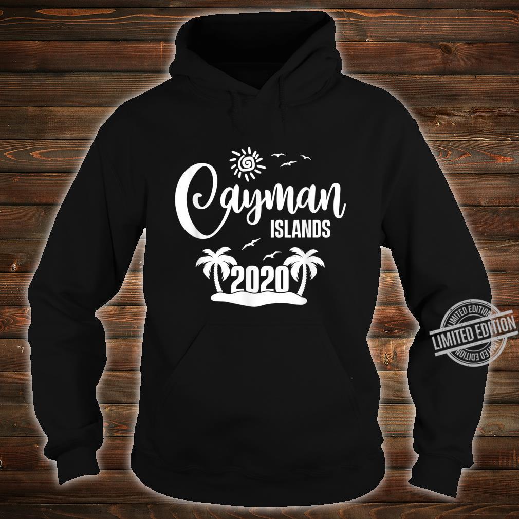 Cayman Islands 2020 Summer Vacay Beach Trip Vacation Shirt hoodie