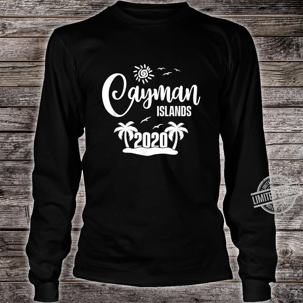 Cayman Islands 2020 Summer Vacay Beach Trip Vacation Shirt long sleeved