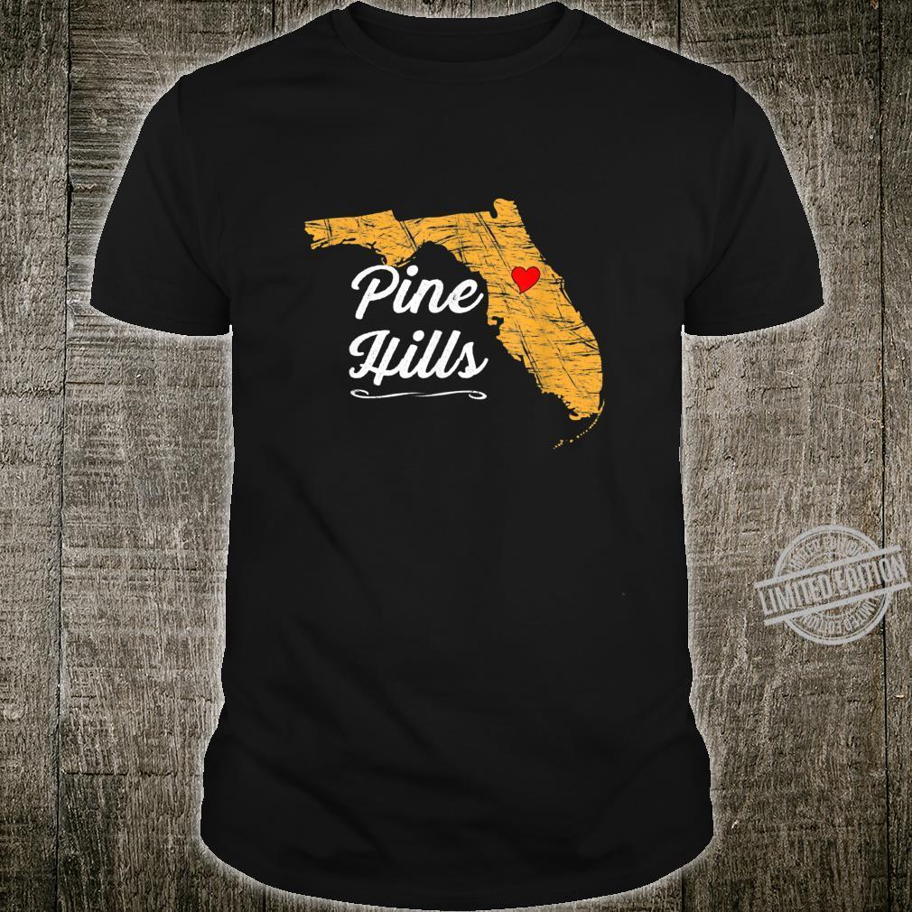 City of PINE HILLS FLORIDA Vacation Souvenir Shirt
