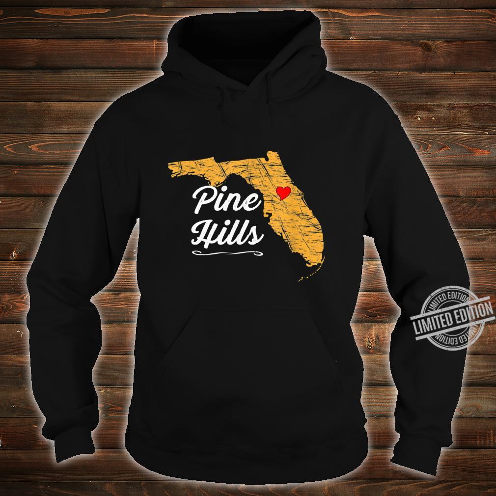 City of PINE HILLS FLORIDA Vacation Souvenir Shirt hoodie