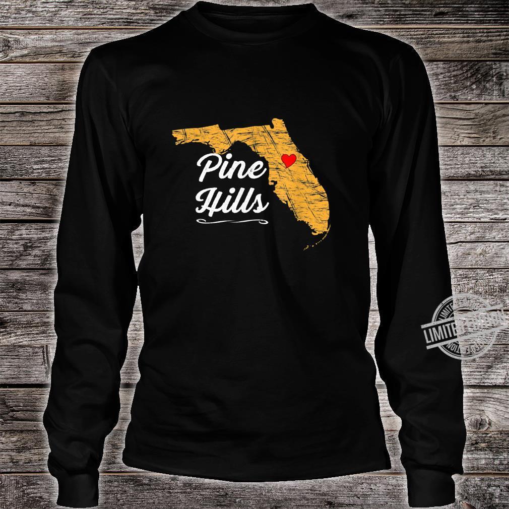 City of PINE HILLS FLORIDA Vacation Souvenir Shirt long sleeved