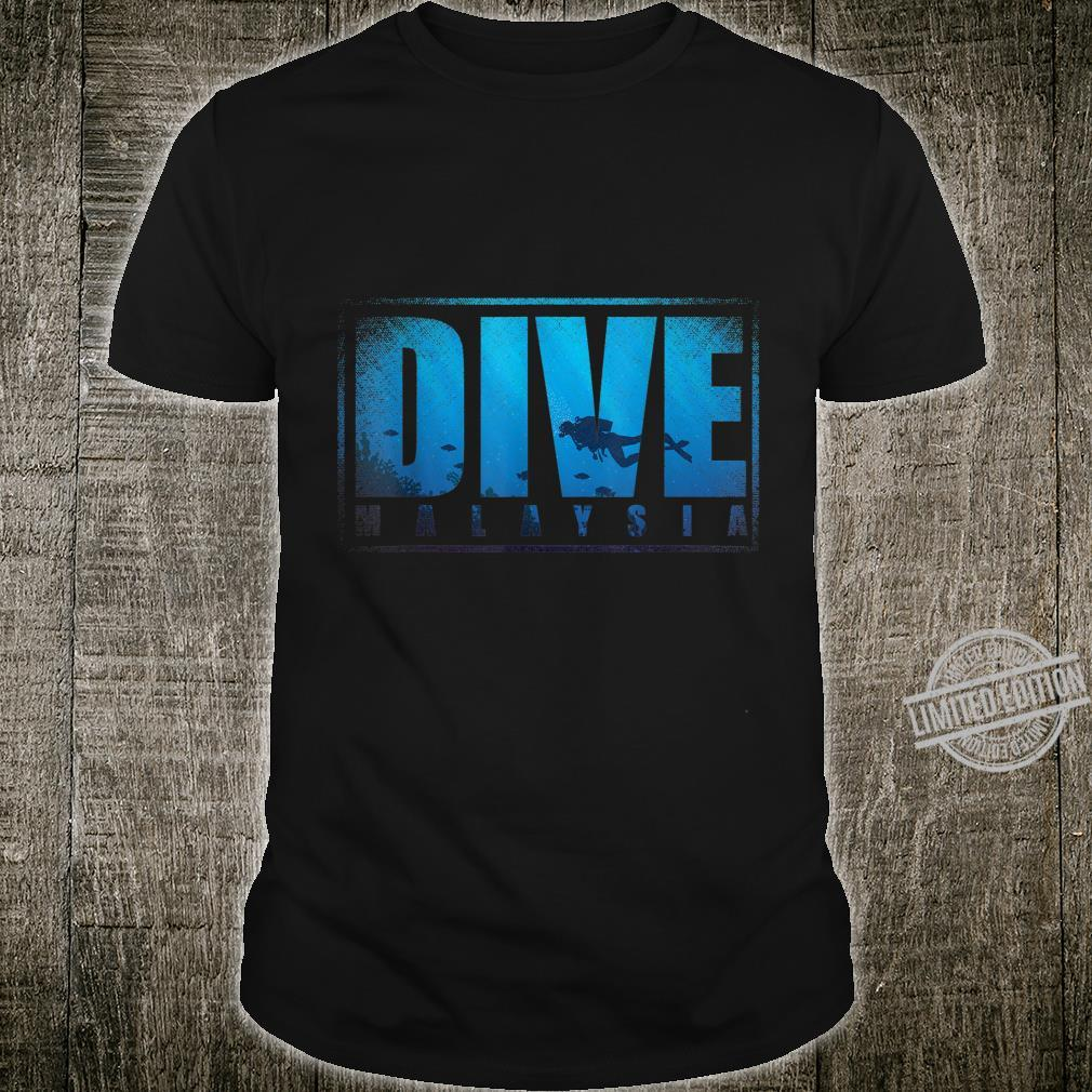 Dive Malaysian Culture Tropical Malaysia Shirt