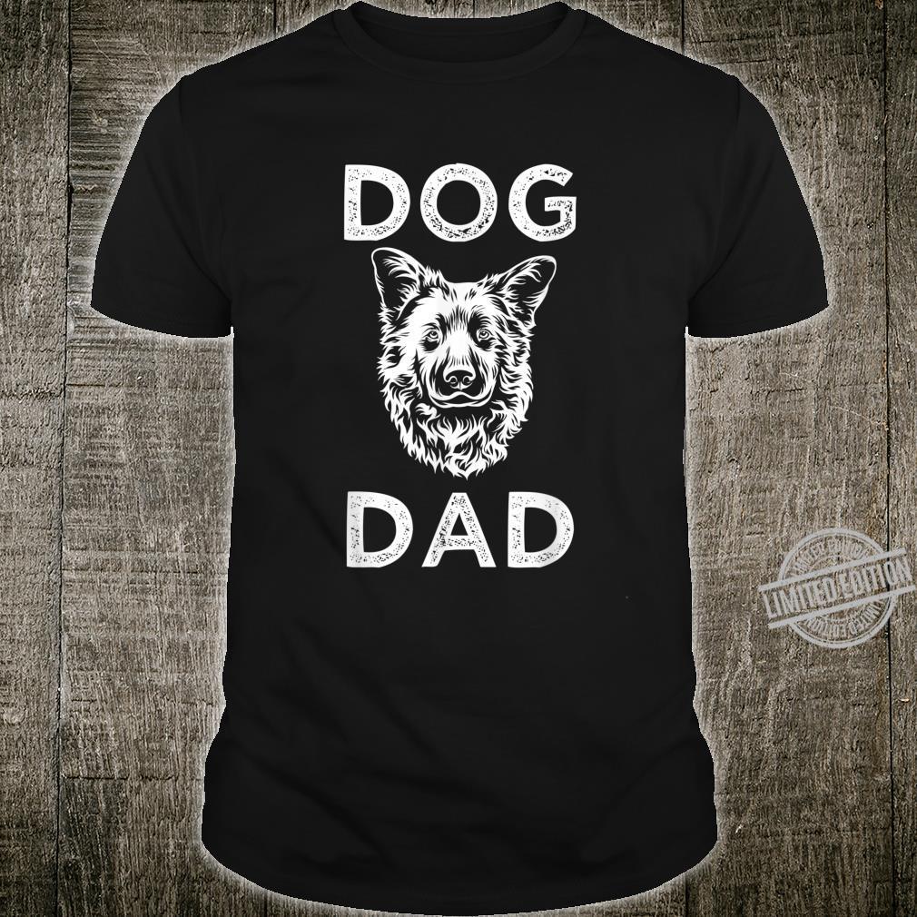 Dog Dad Father Love Dog Birthday Dogs Daddy Shirt