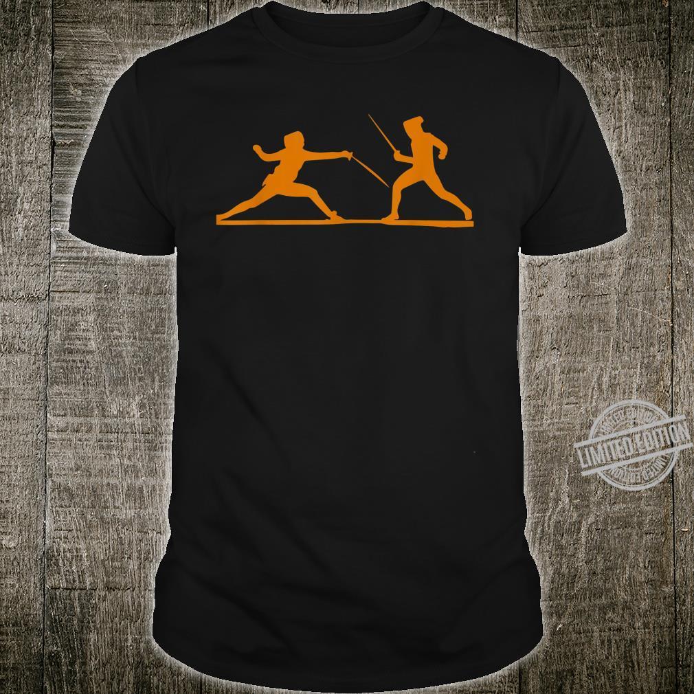 Fencing Fencers Swordplays Shirt