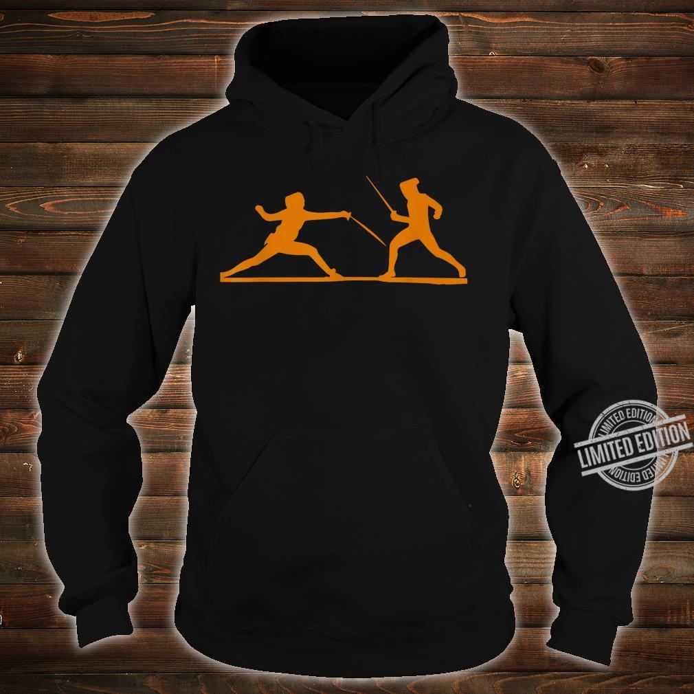 Fencing Fencers Swordplays Shirt hoodie
