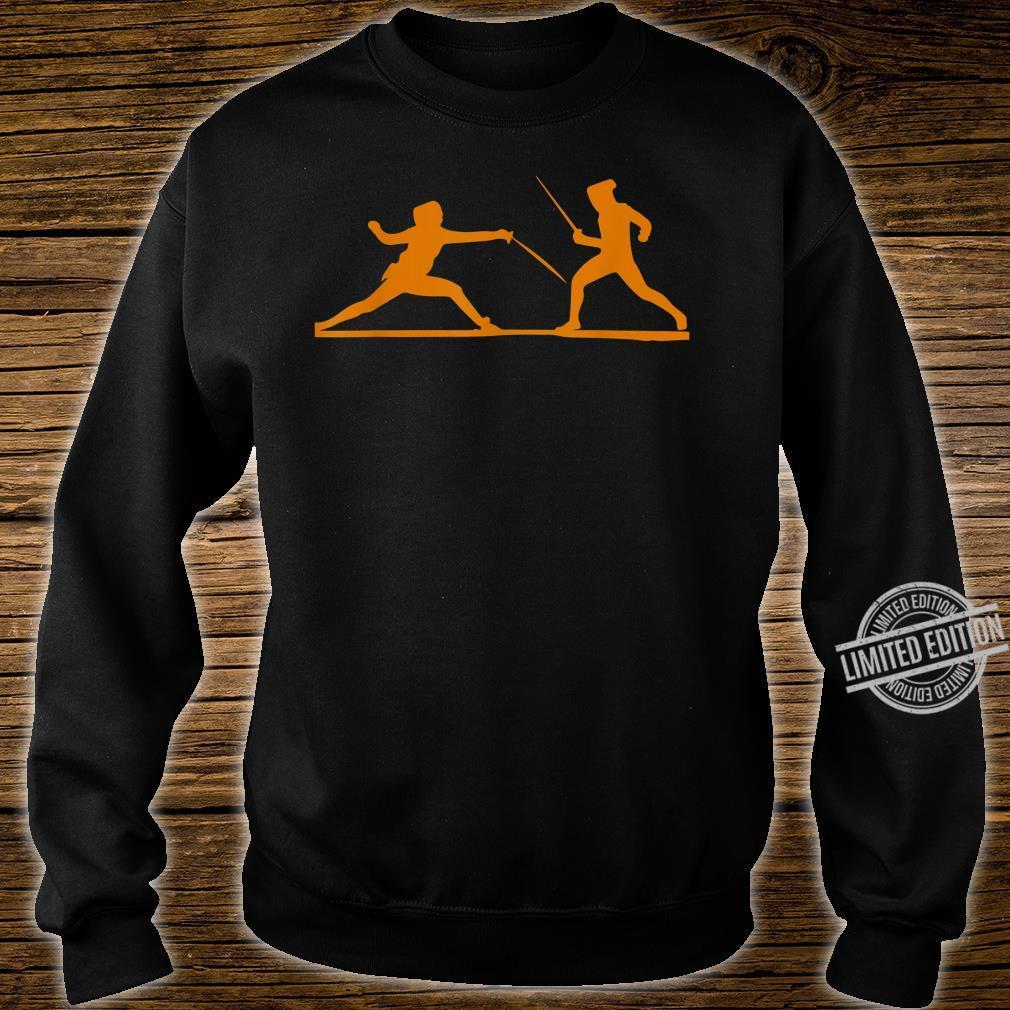 Fencing Fencers Swordplays Shirt sweater