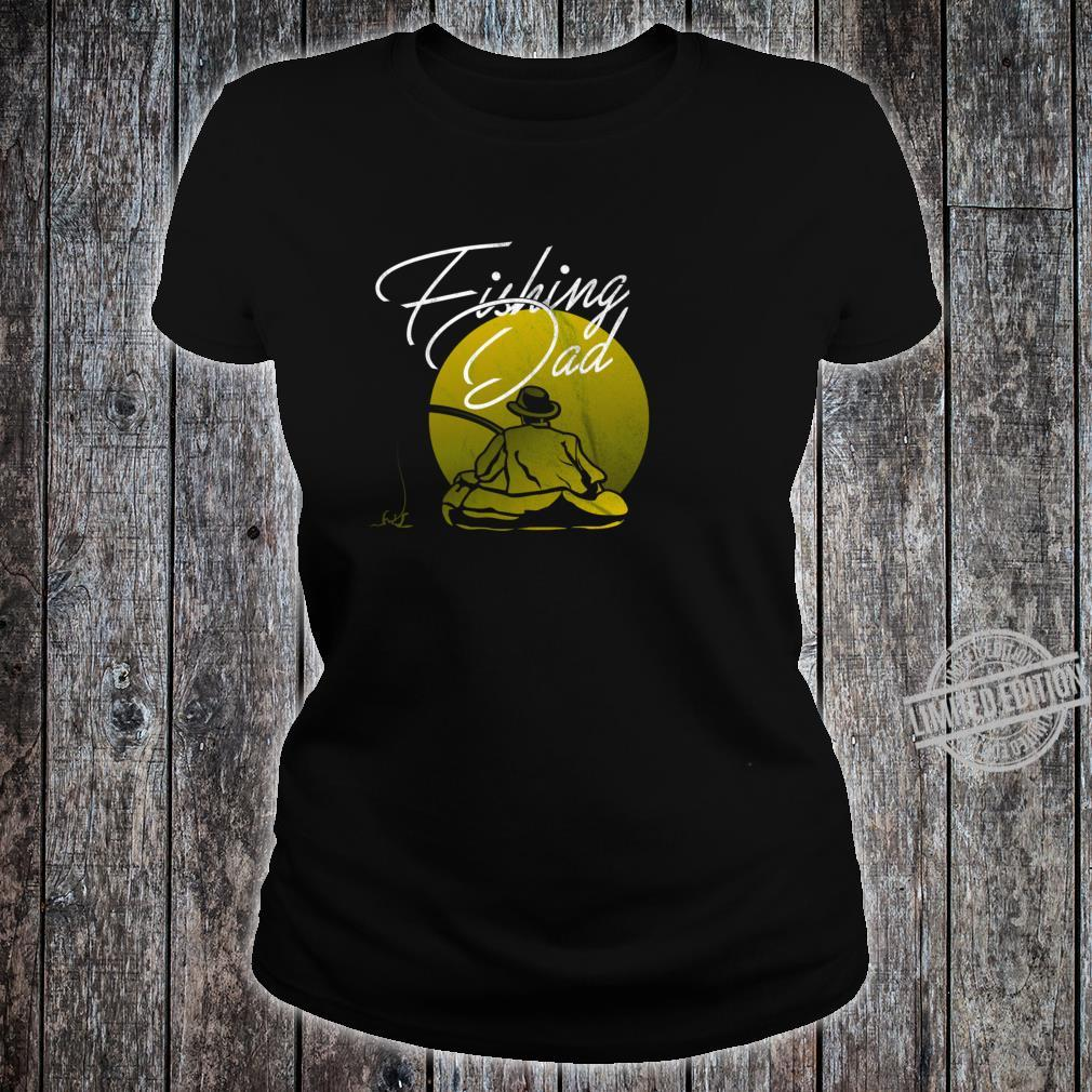 Fishing Papa Dad Shirt ladies tee