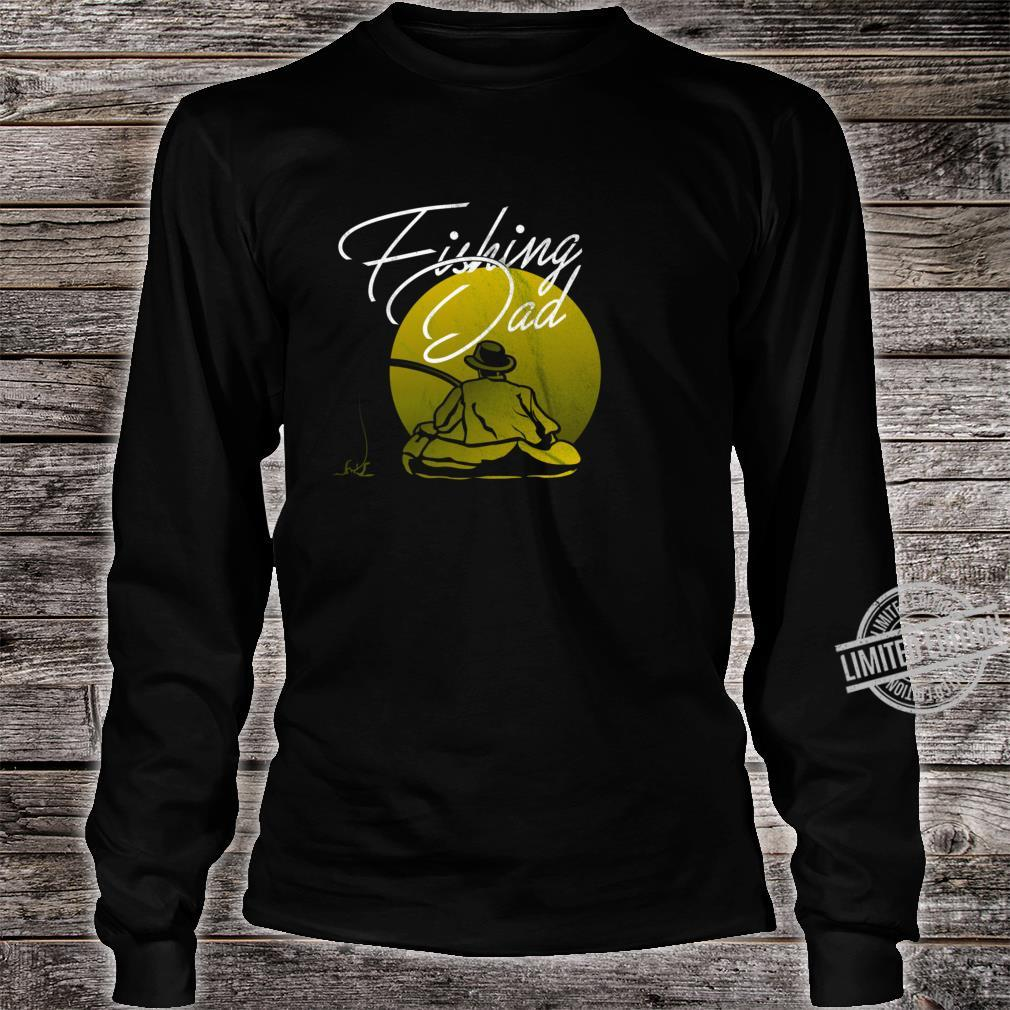 Fishing Papa Dad Shirt long sleeved