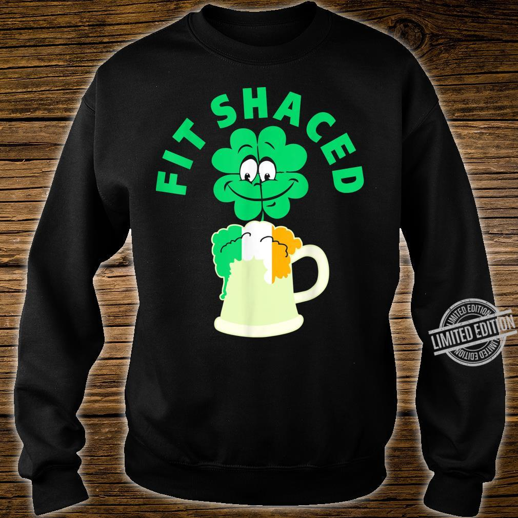 Fit Shaced St Patricks Day Shamrock Shirt sweater