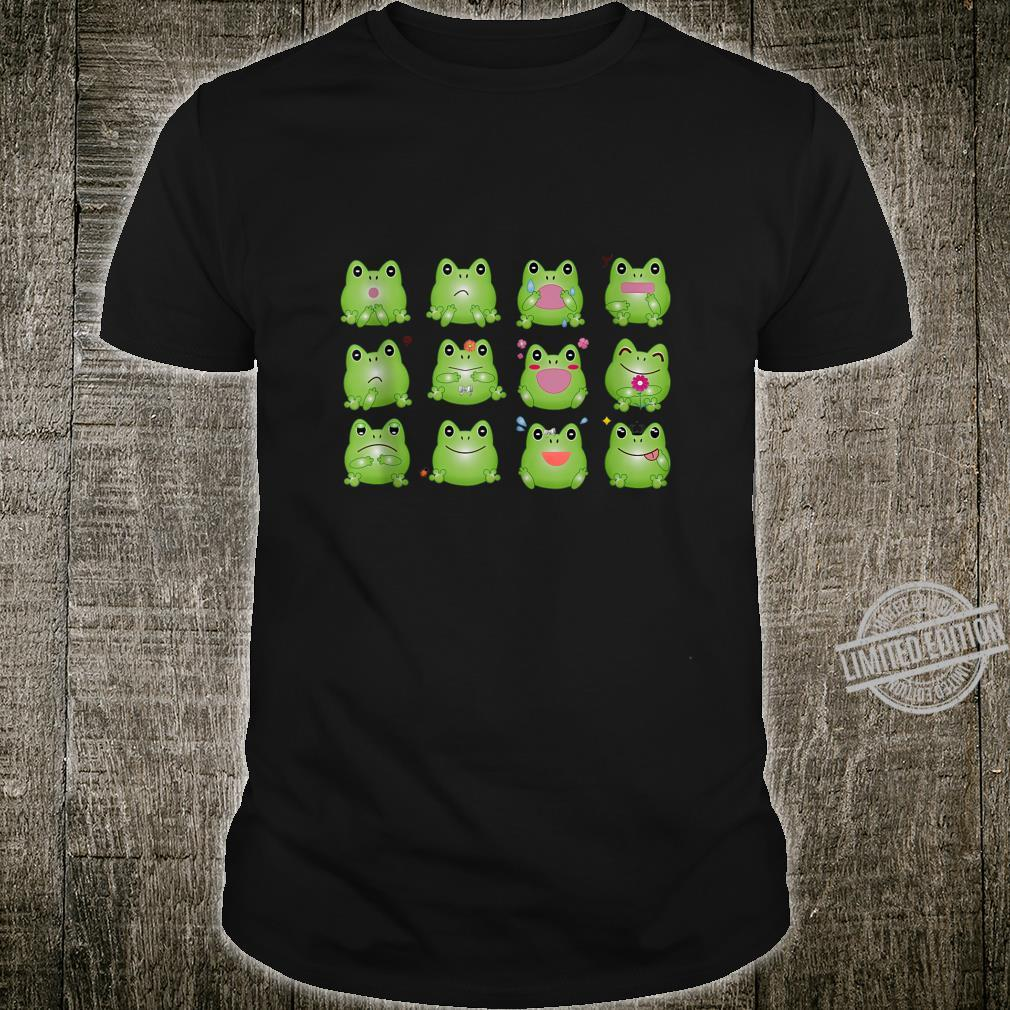 Funny Frogs, Four Mountain Frog Shirt