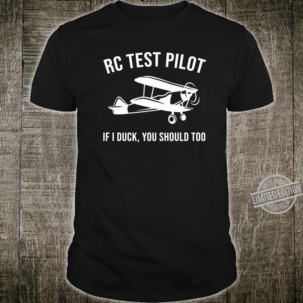 Funny RC Pilot Boys Cool Remote Control Aeroplane Shirt
