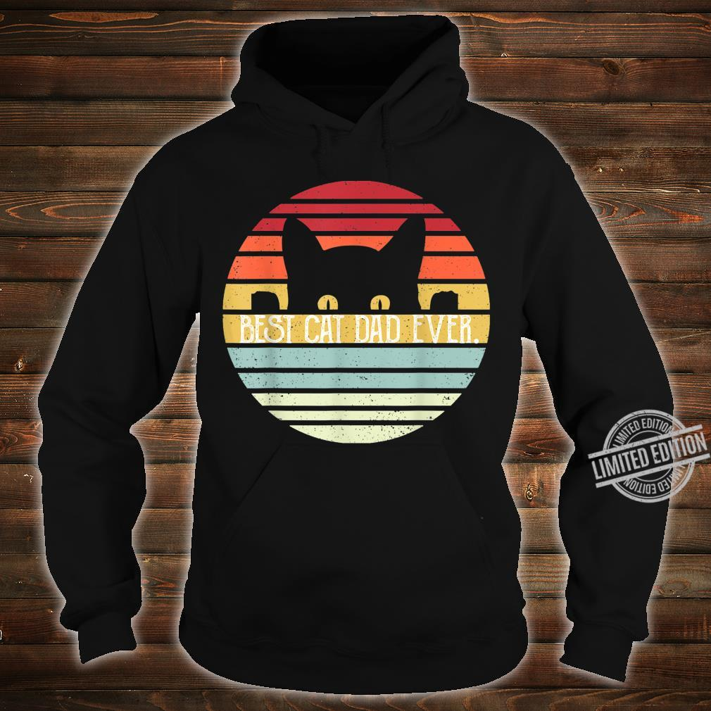 Herren Father Best Cat Dad Ever Shirt hoodie