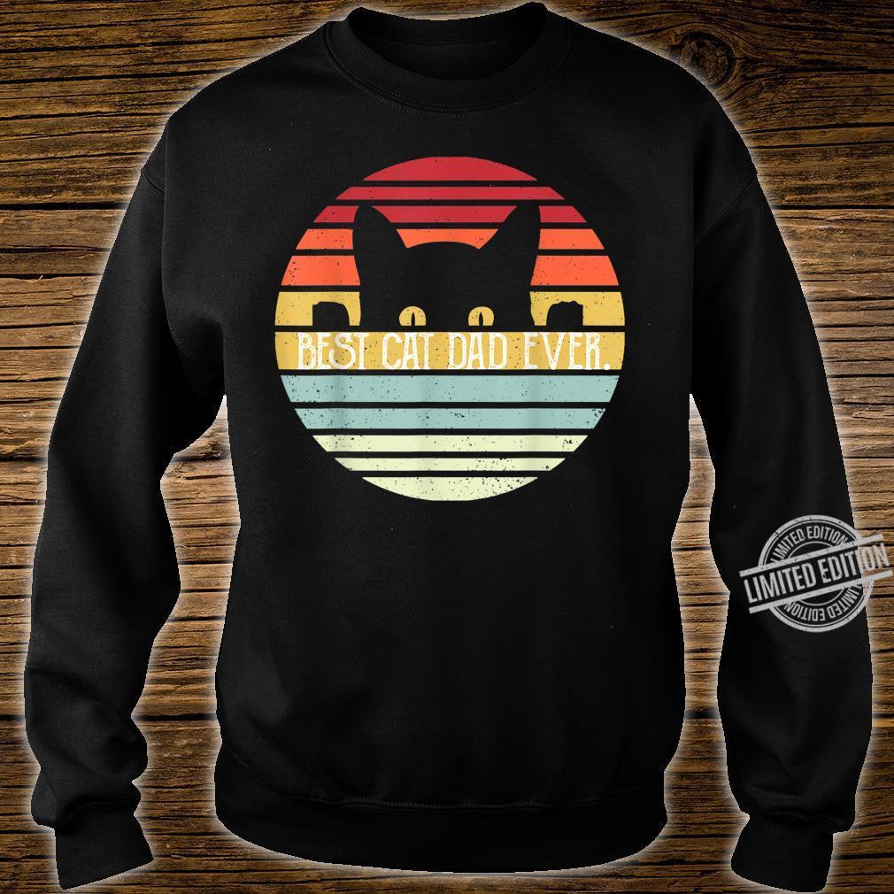 Herren Father Best Cat Dad Ever Shirt sweater