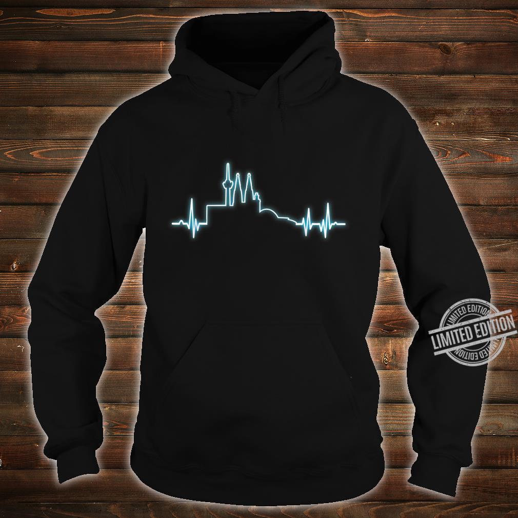 Herzimpuls Stadt Köln Geschenk Shirt hoodie