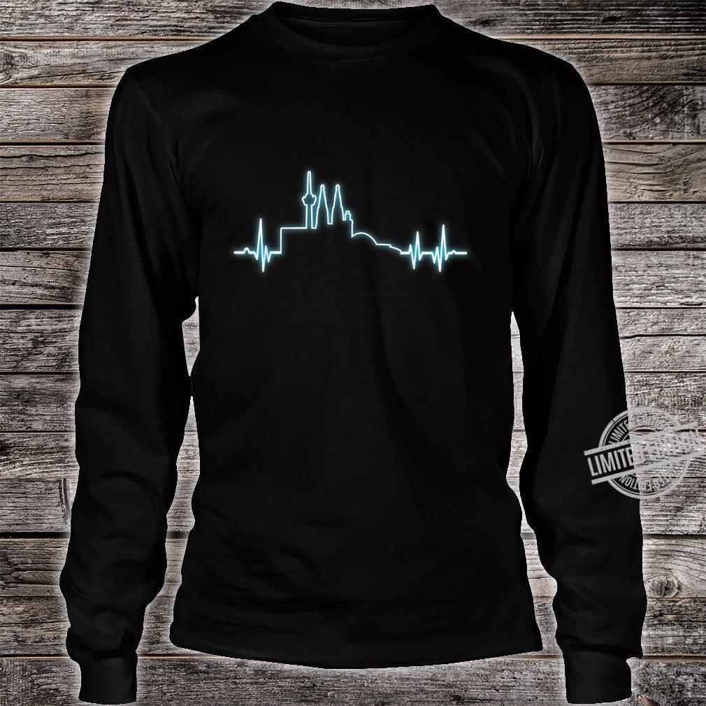 Herzimpuls Stadt Köln Geschenk Shirt long sleeved