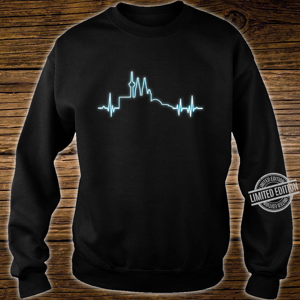 Herzimpuls Stadt Köln Geschenk Shirt sweater