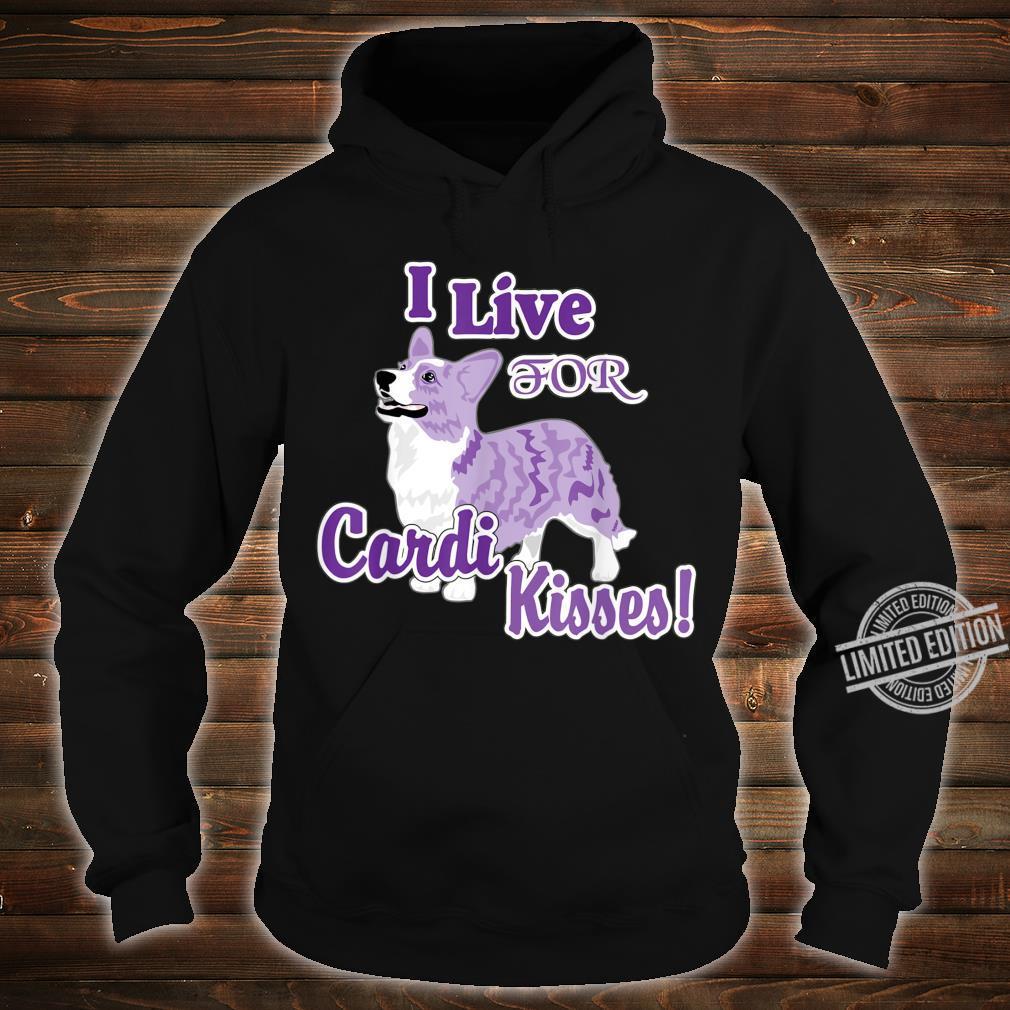 Mens I Live for Cardi Kisses Shirt hoodie
