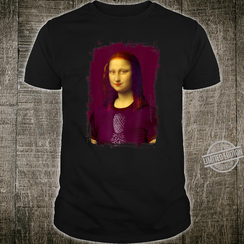 Mona Lisa with Overturned Pineapple Shirt