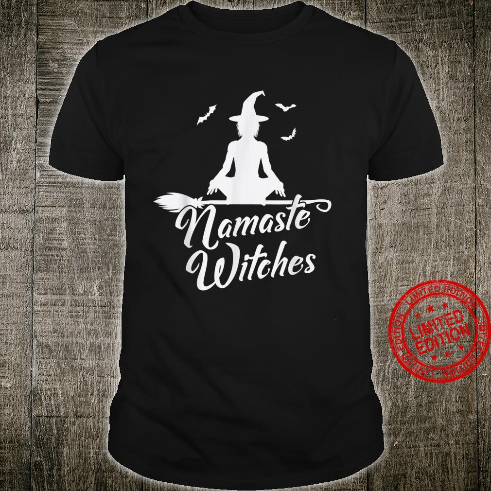 Namaste Witches Cute Halloween Yoga Shirt
