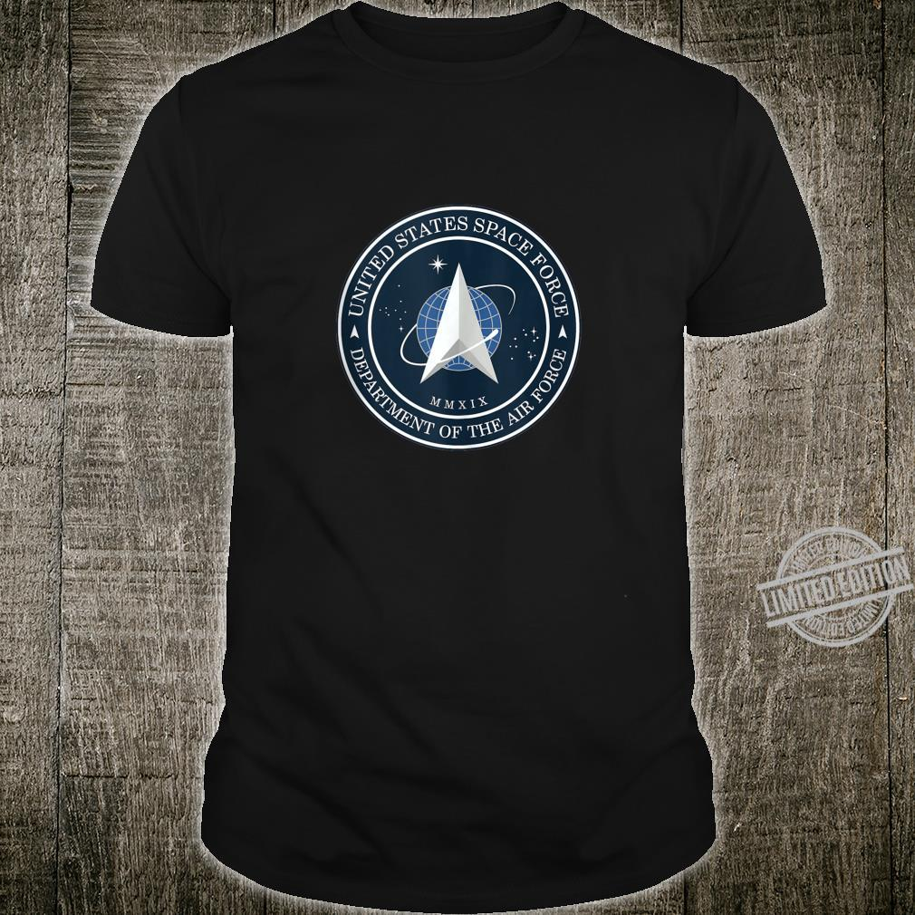 OFFICIAL USSF United States Space Force Trump Logo Shirt