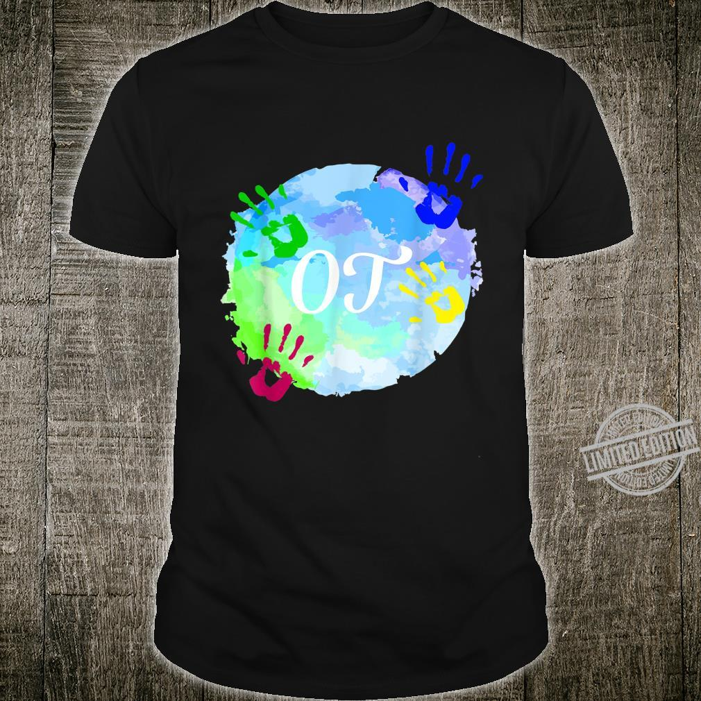 Occupational Therapy Month OT Squad Cute Hands Shirt