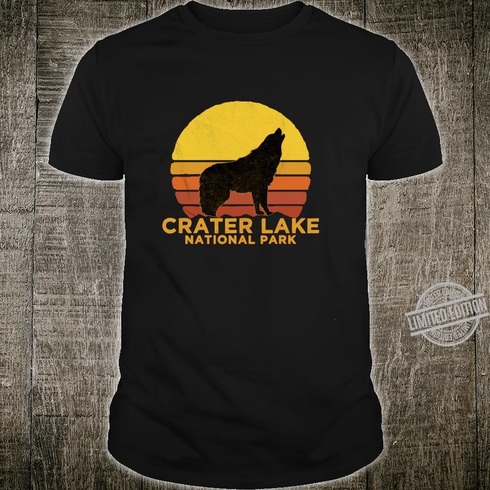 Retro Vintage Crater Lake National Park Shirt