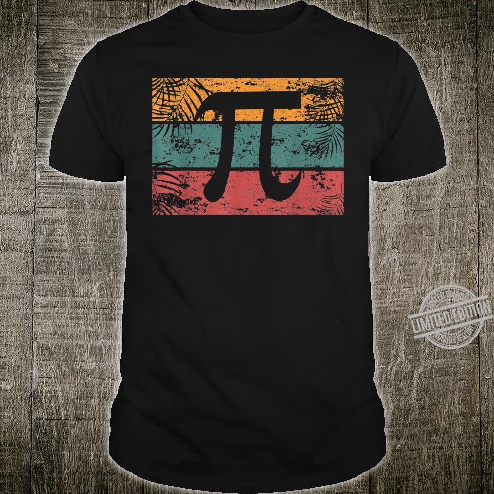 Retro Vintage Pi Day for Math Algebra Teacher Shirt