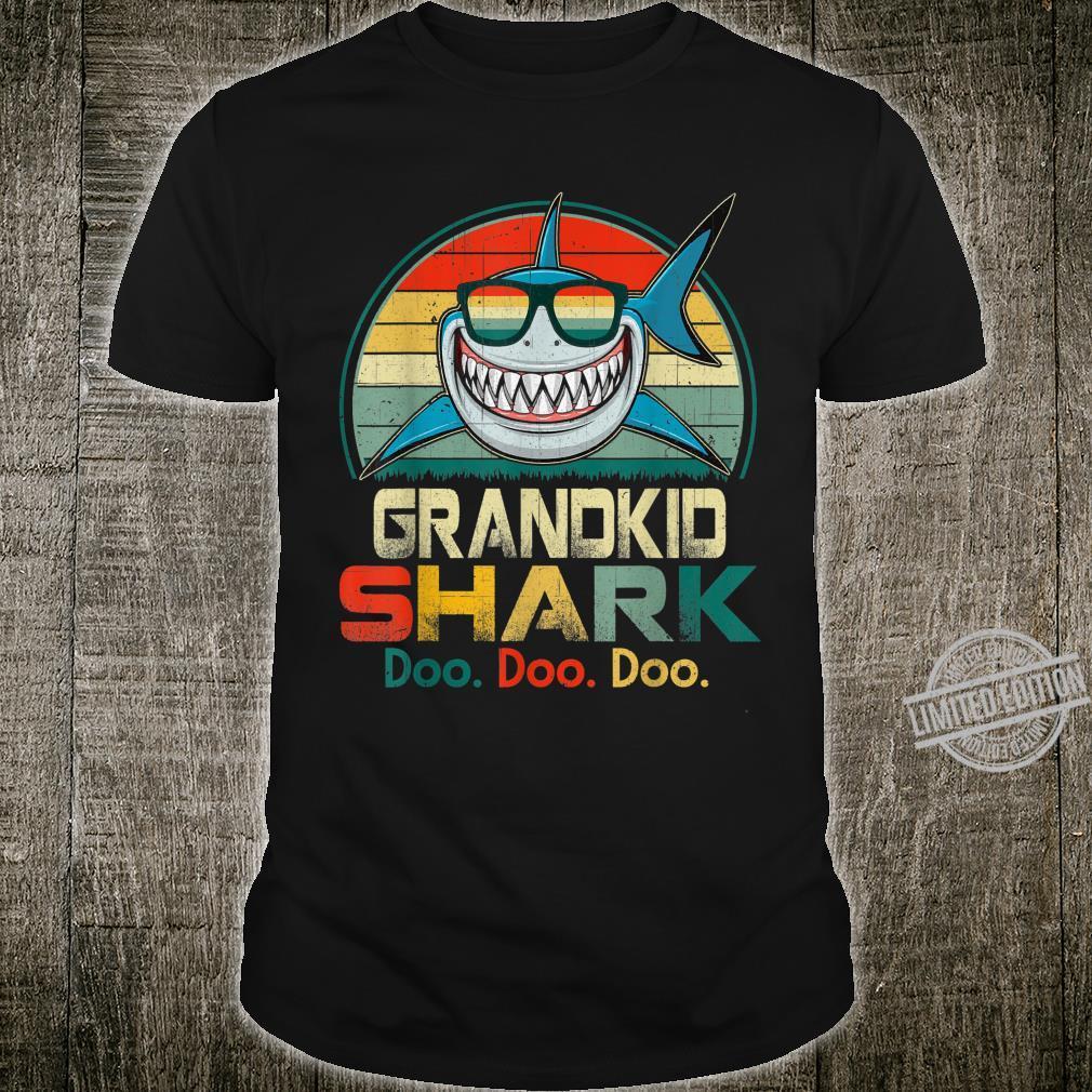 Retro Vintage Teacher Shark Family Teacher's Day Shirt