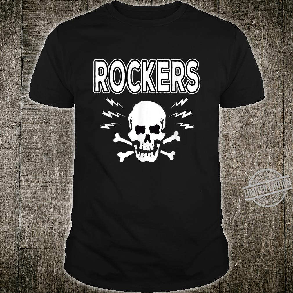 Rockabilly Skull Shirt Rocker Greaser Biker Shirt